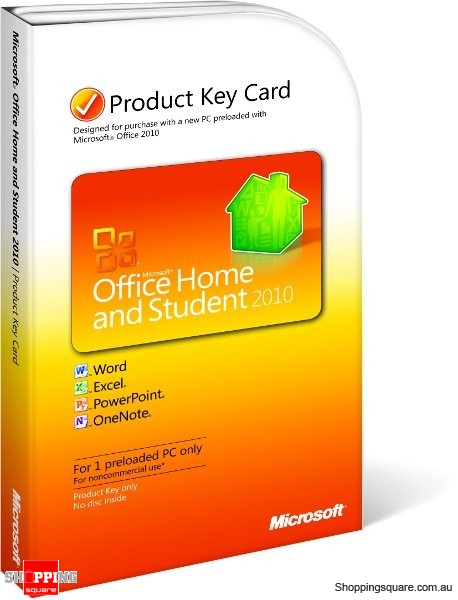 Microsoft office 2010 home and student discount price